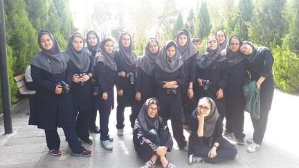 اردوی عکاسی باغ موزه قصر